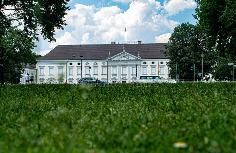 Seat of the Federal President of the Federal Republic of Germany. A Seat of the Federal President of the Federal Republic of Germany royalty free stock photo