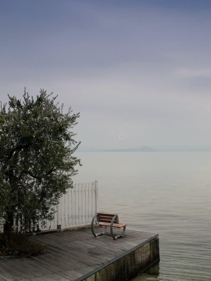 Seat at the Garda lake