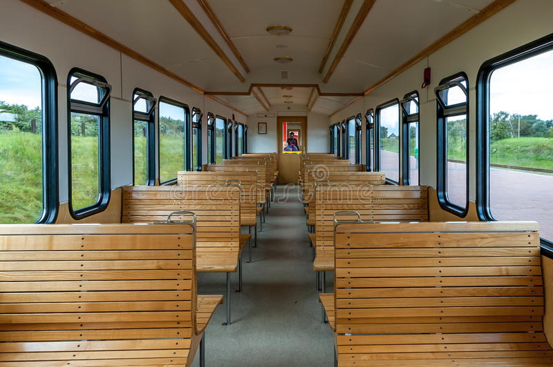 Seat Rows In Old Passenger Car Editorial Stock Image ...