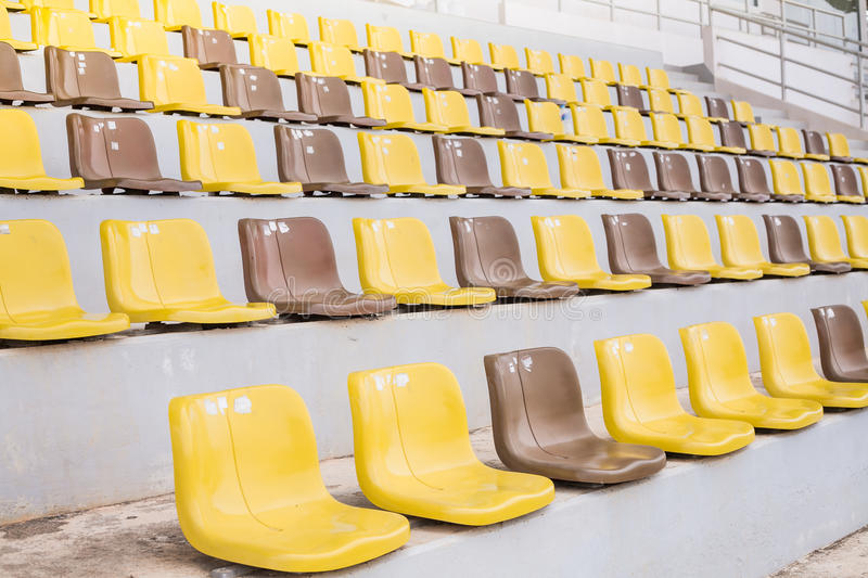 Download Seat in stadium stock image. Image of public, chair, background - 33436369