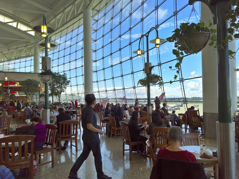 Seattle Tacoma International Airport - Central Terminal royalty free stock photo