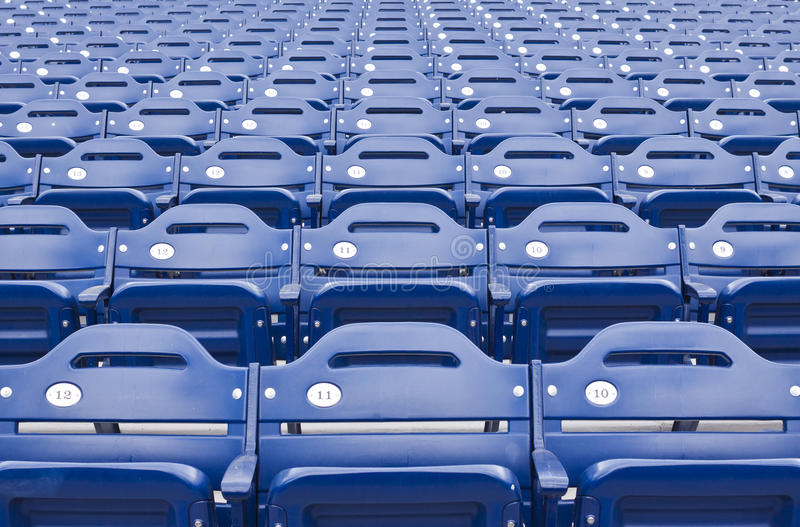 Seating арены стоковые фотографии rf