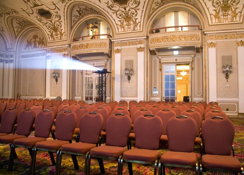 seating аудитории открытый стоковое фото