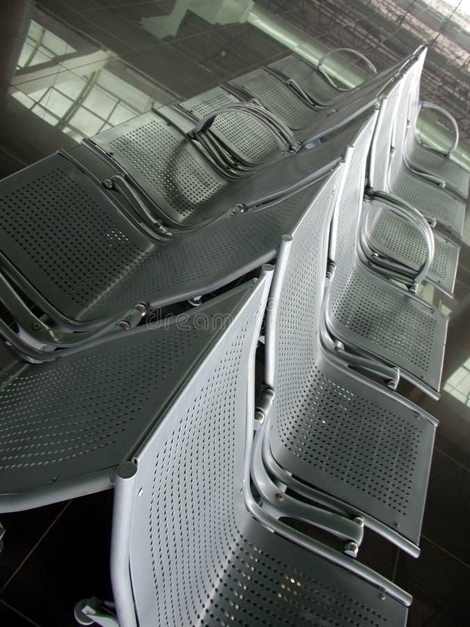 Seating 2 авиапортов Стоковые Фото
