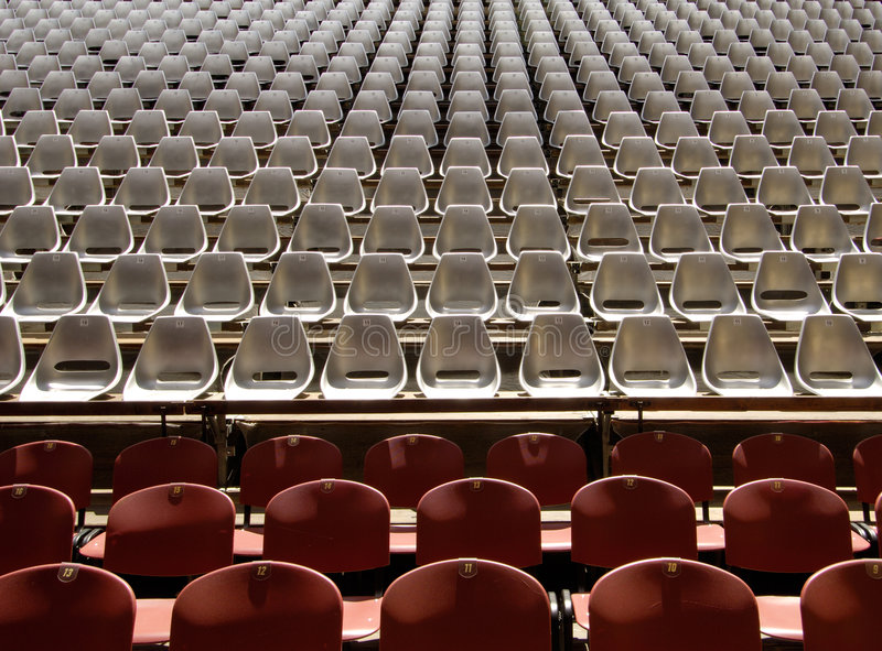 Download Seating at Auditorium stock photo. Image of indoors, center - 2782706