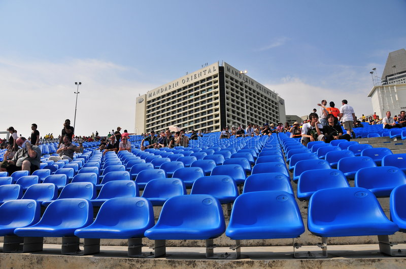 Download Seating For Formula One, Singapore Editorial Stock Photo - Image: 6527778