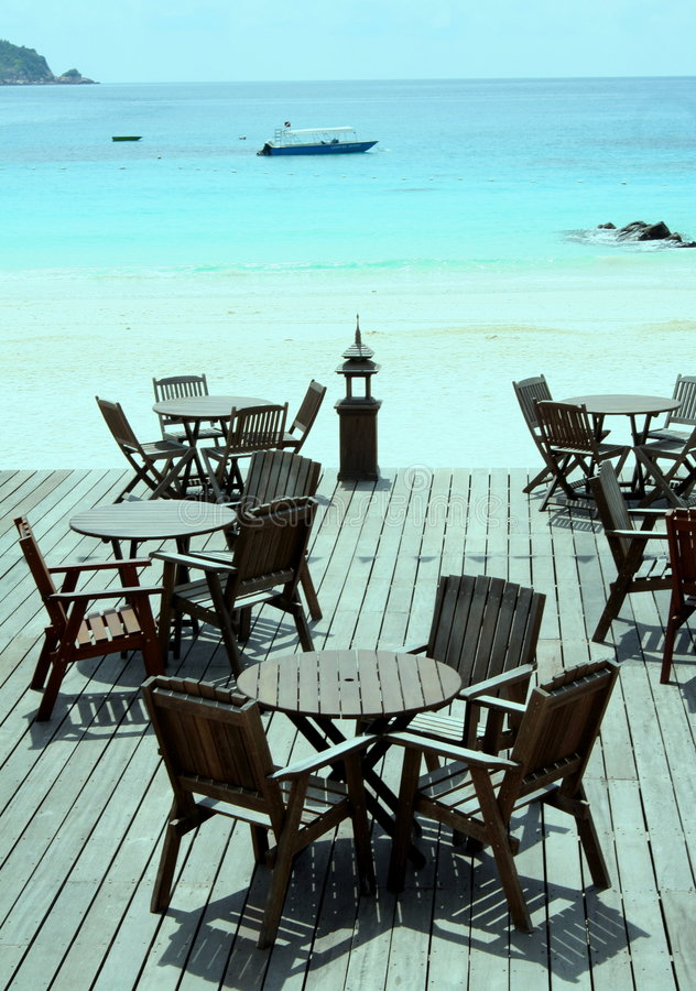 Download Seating by idyllic ocean stock image. Image of luxurious - 684493