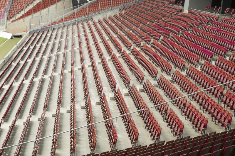 Download Seats at stadium stock photo. Image of grass, neat, colourful - 32102536