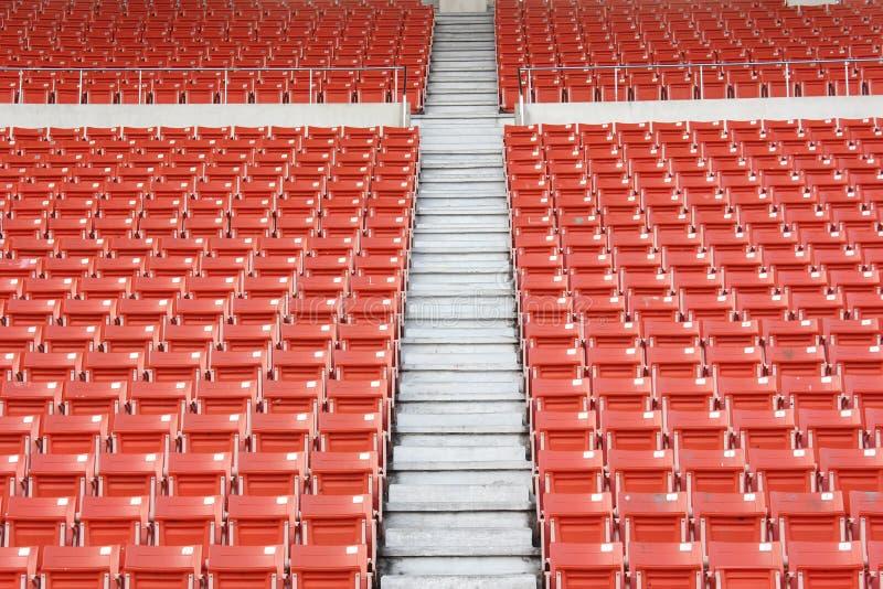 Seats at stadium royalty free stock photo