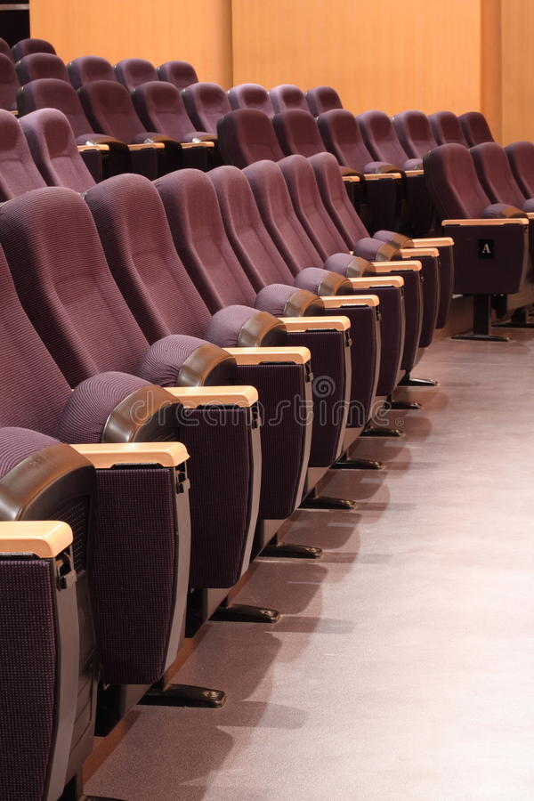 Download Seats In Theater Stock Image - Image: 26959571