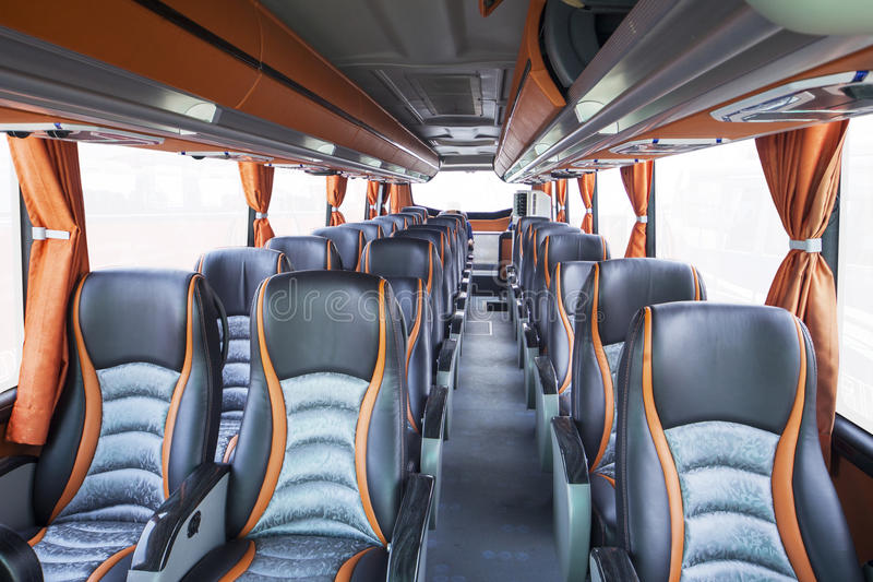 Seats Of Tourism Bus Stock Image Image Of Cabin Commuter