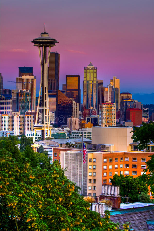 Seattle immagine stock