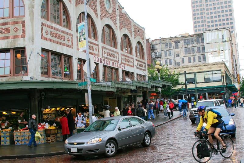 Seattle stock afbeeldingen