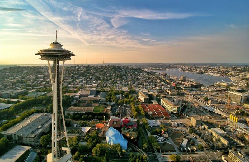 Seattle al norte imágenes de archivo libres de regalías