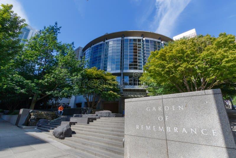 Seattle Art Museum photographie stock libre de droits