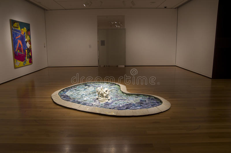 Seattle art museum royalty free stock photos