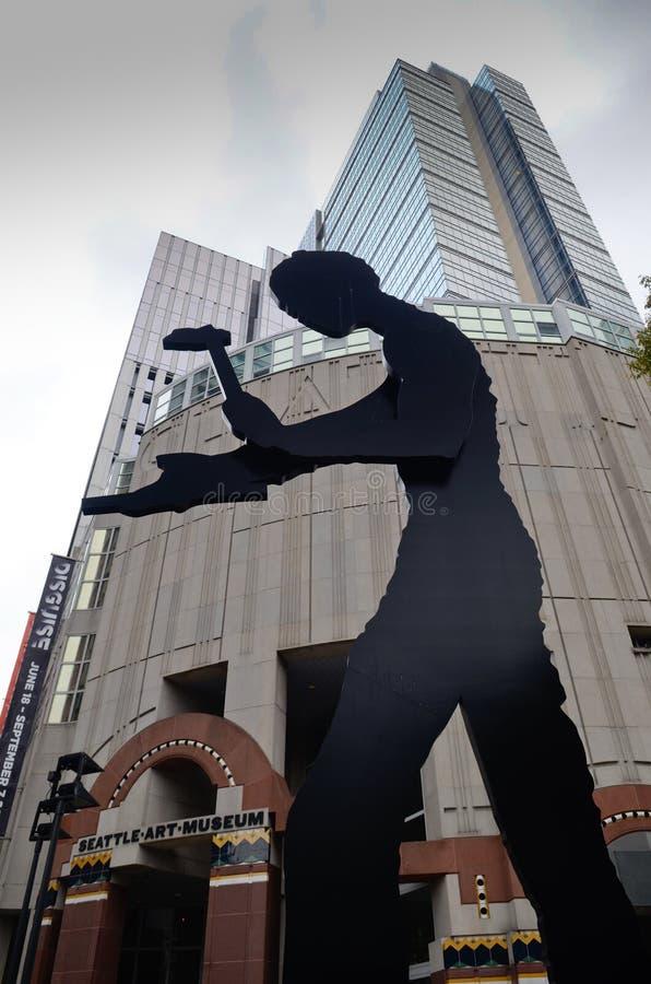 Seattle Art Museum images libres de droits