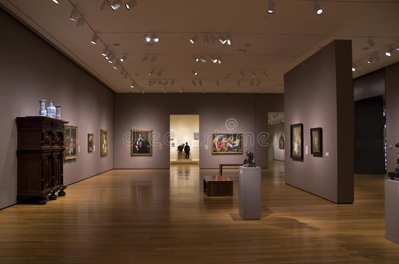 Seattle Art Museum Interior Editorial Stock Photo - Image ...