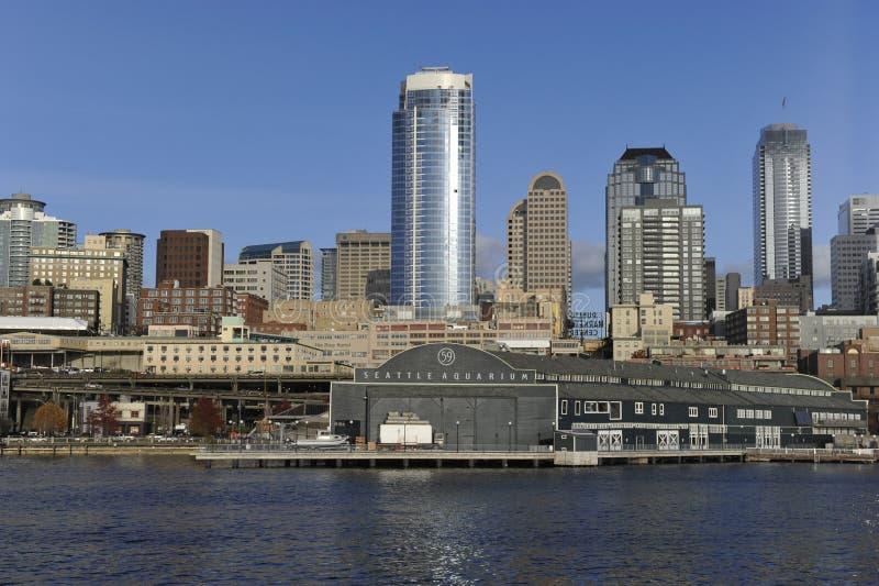 Seattle, cais 59 fotografia de stock royalty free