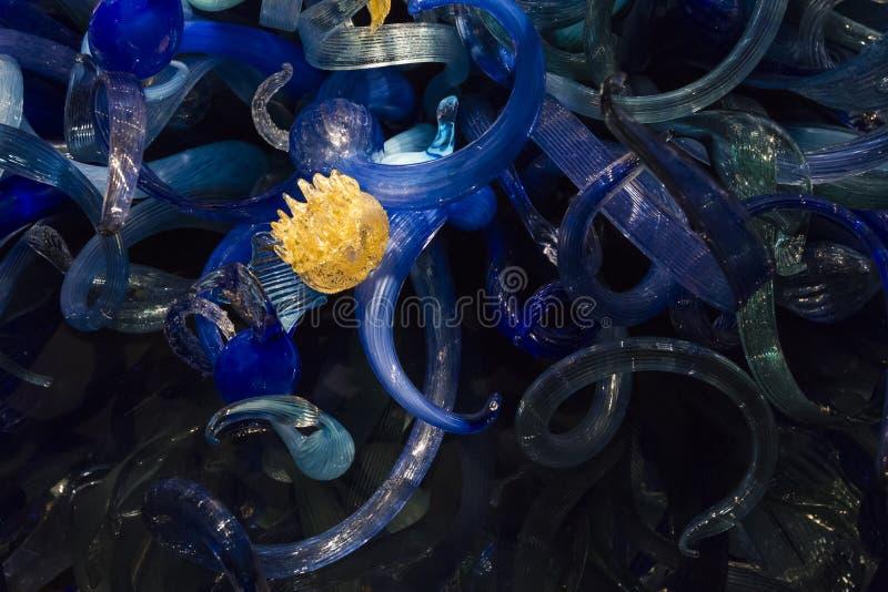 Seattle_Chihuly_Garden_Glass-15 стоковое изображение rf
