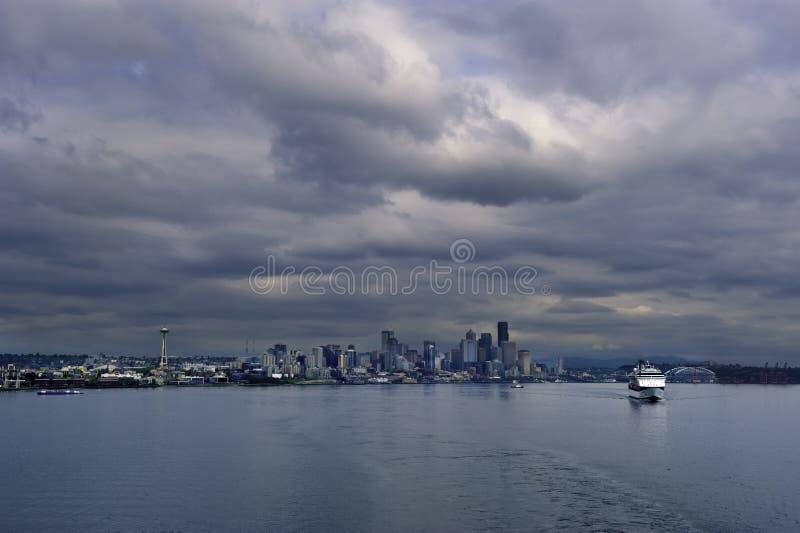Seattle Cityscape stock photography
