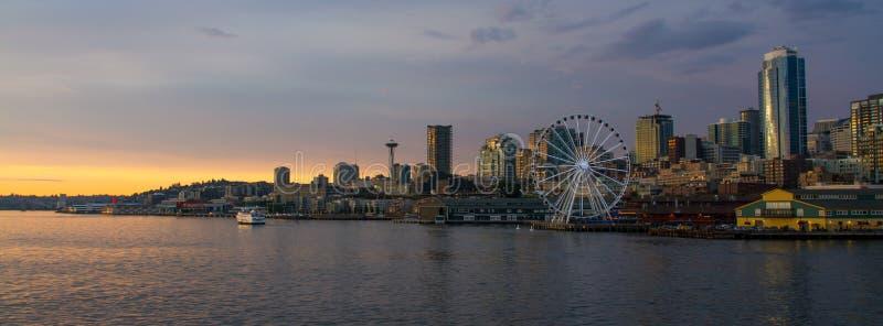 Seattle da baixa fotos de stock