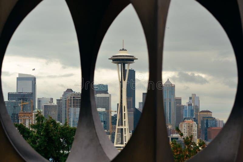 Seattle da baixa imagens de stock