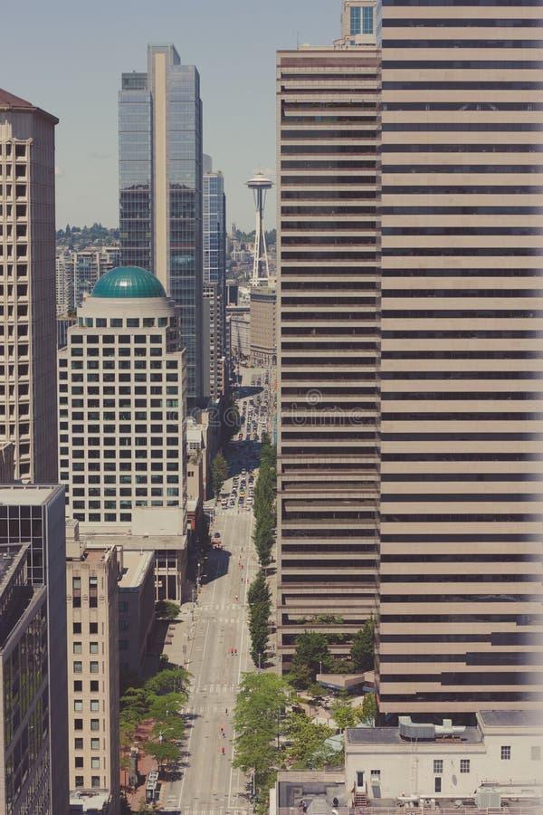 Seattle de Smith Tower 2 imagem de stock royalty free