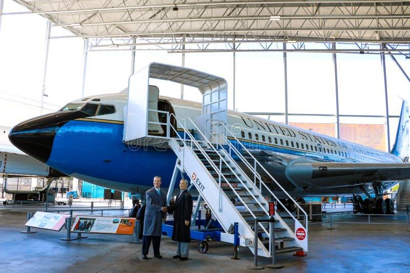 Seattle, de V.S., 3 September, 2018: Het Museum van de Luchtvaartpaviljoen van de Vlucht is behandeld royalty-vrije stock fotografie