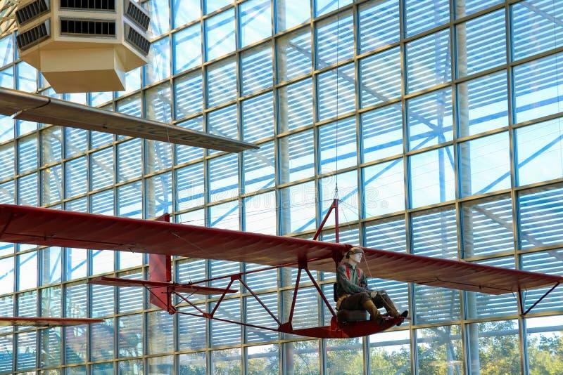 Seattle, de V.S., 3 September, 2018: Het Museum van vlucht is de grootste privé lucht en het ruimtemuseum in de wereld stock afbeeldingen