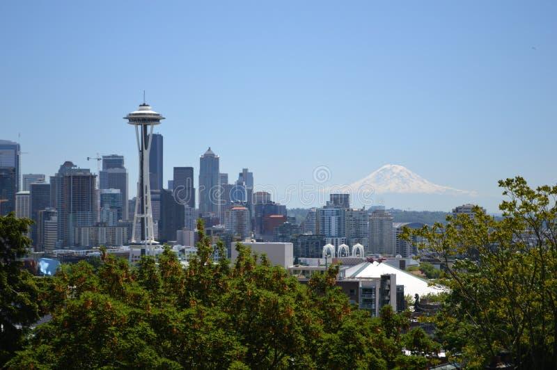 Seattle du centre photo libre de droits