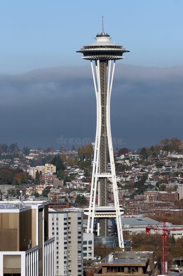 Seattle en la caída 3 imagenes de archivo