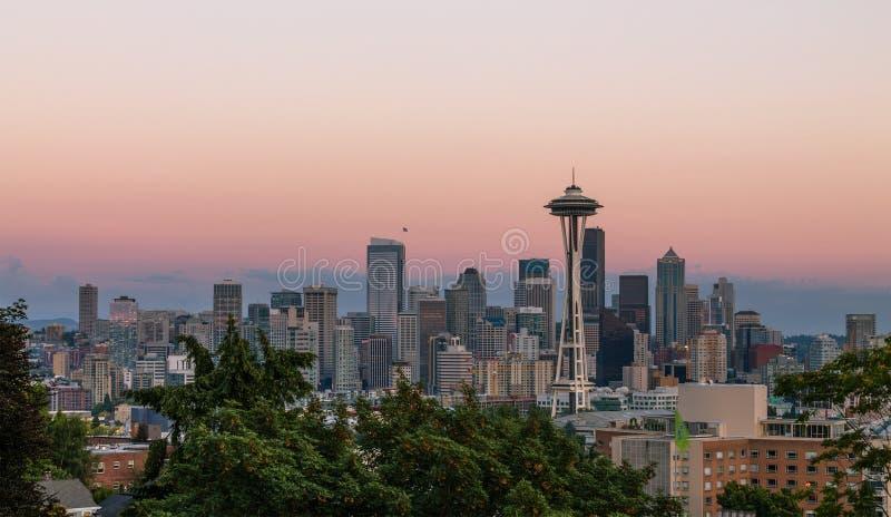 Seattle, Etats-Unis image libre de droits