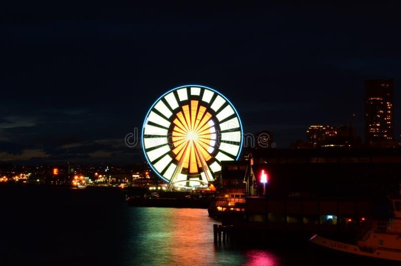 Seattle Ferris Wheel fotos de archivo