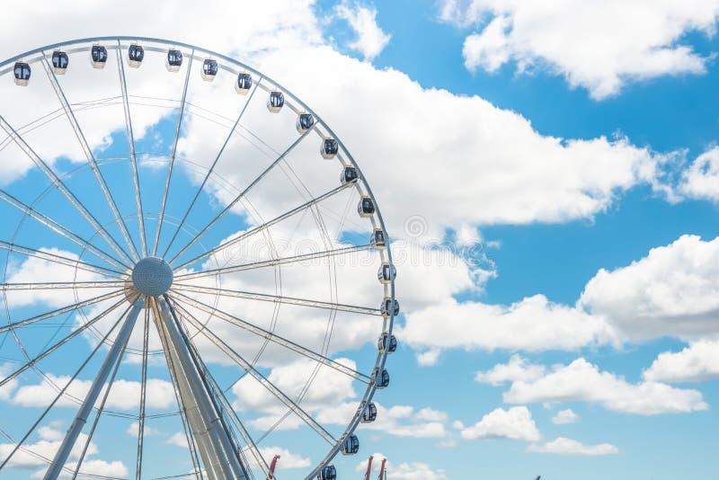 Seattle Ferris Wielki koło fotografia royalty free