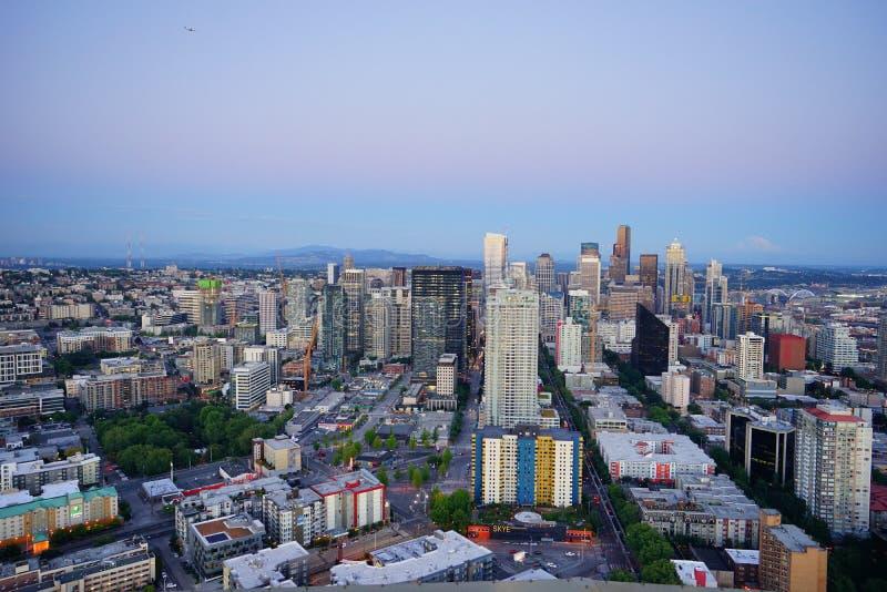 Seattle hermosa imagen de archivo libre de regalías