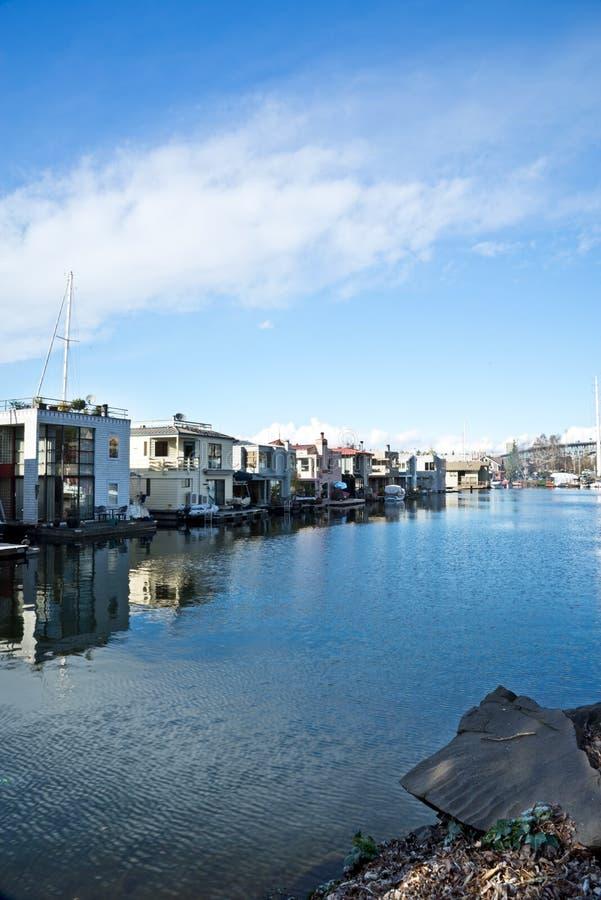 Seattle Houseboats obrazy stock