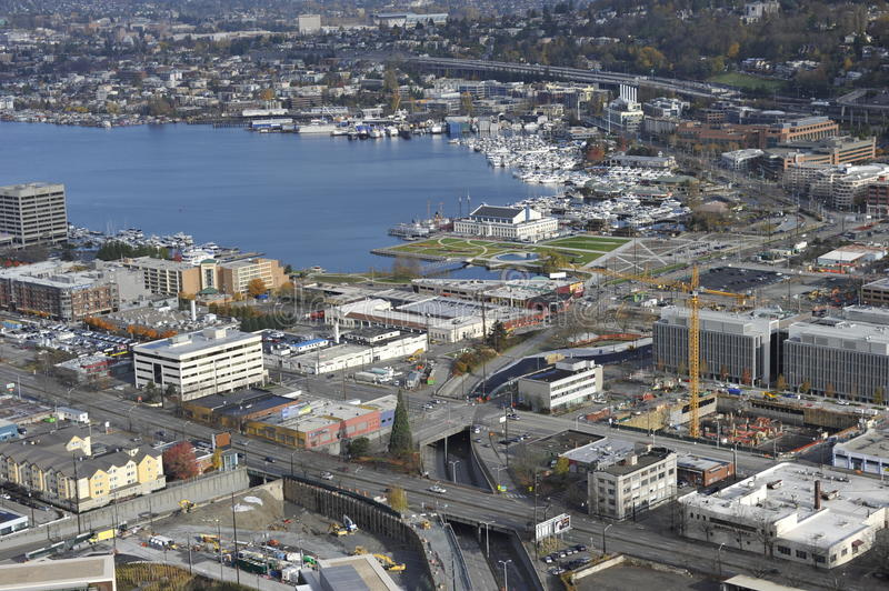 Download Seattle, Lake Union editorial stock photo. Image of lake - 22242193