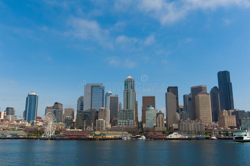 Seattle linia horyzontu zdjęcia stock