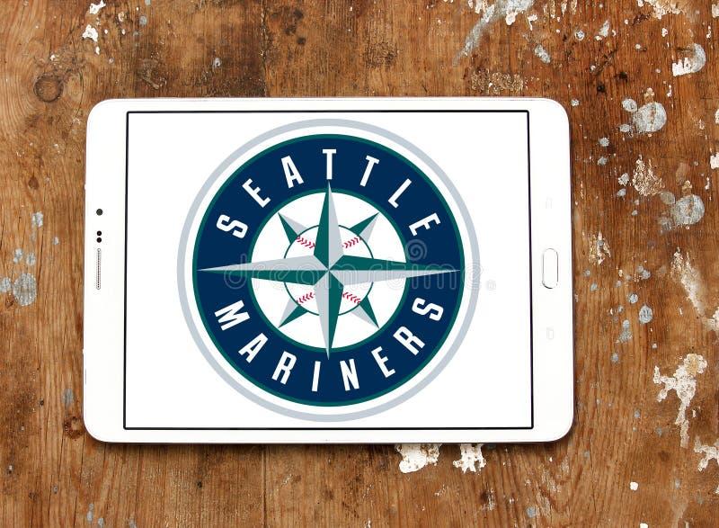Seattle Mariners baseball Club logo. Logo of Seattle Mariners baseball Club on samsung tablet. The Seattle Mariners are an American professional baseball team stock photography
