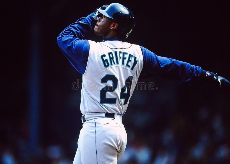 Seattle Mariners de Ken Griffey Jr. foto de stock
