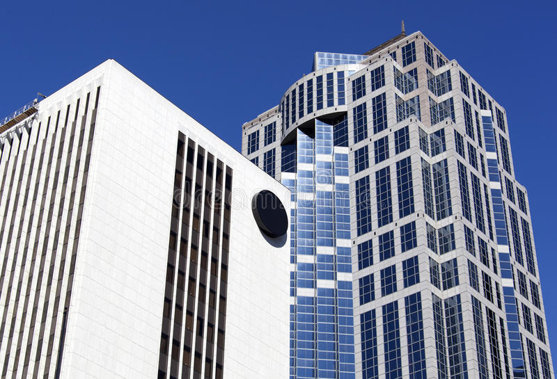 Seattle Modern Buildings royalty free stock photography