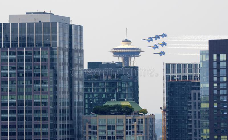 Seattle editorial image. Image of frame, headquarters - 99852370