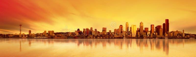Download Seattle Panorama Stock Photo - Image: 1871230