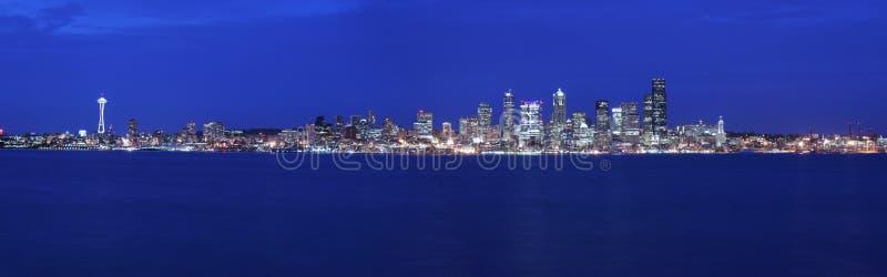 Download Seattle panoramic stock image. Image of building, panorama - 2786679
