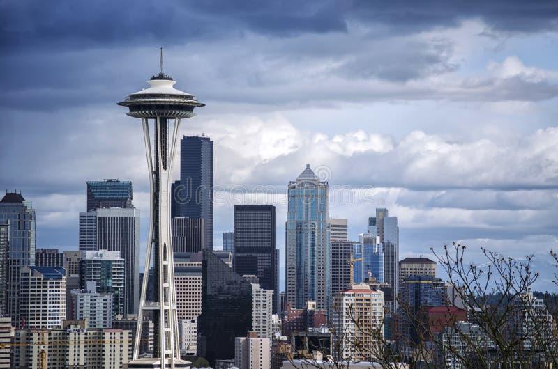 Seattle przestrzeni igła obraz royalty free