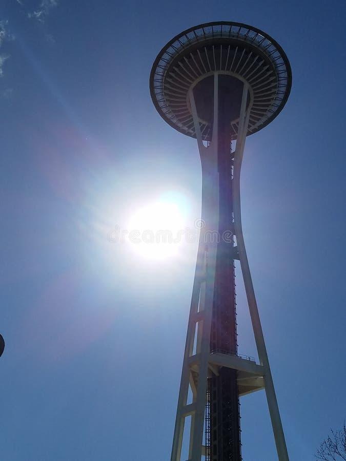 Seattle-Raum neddle stockbilder