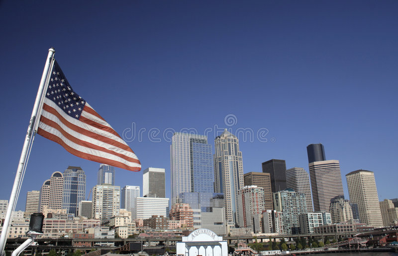 Seattle Skyline Stock Images