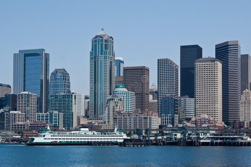 Seattle Skyline stock photography