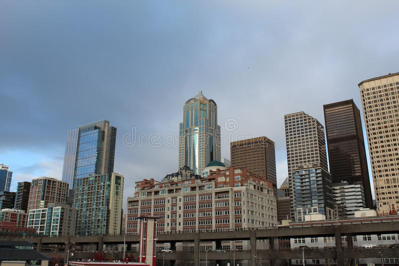 Download Seattle Skyline stock photo. Image of washington, downtown - 22564130